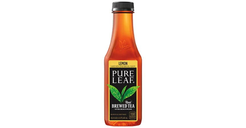 Pure Leaf Real Brewed Tea Lemon (18.5 oz) from EatStreet Convenience - W Mason St in Green Bay, WI