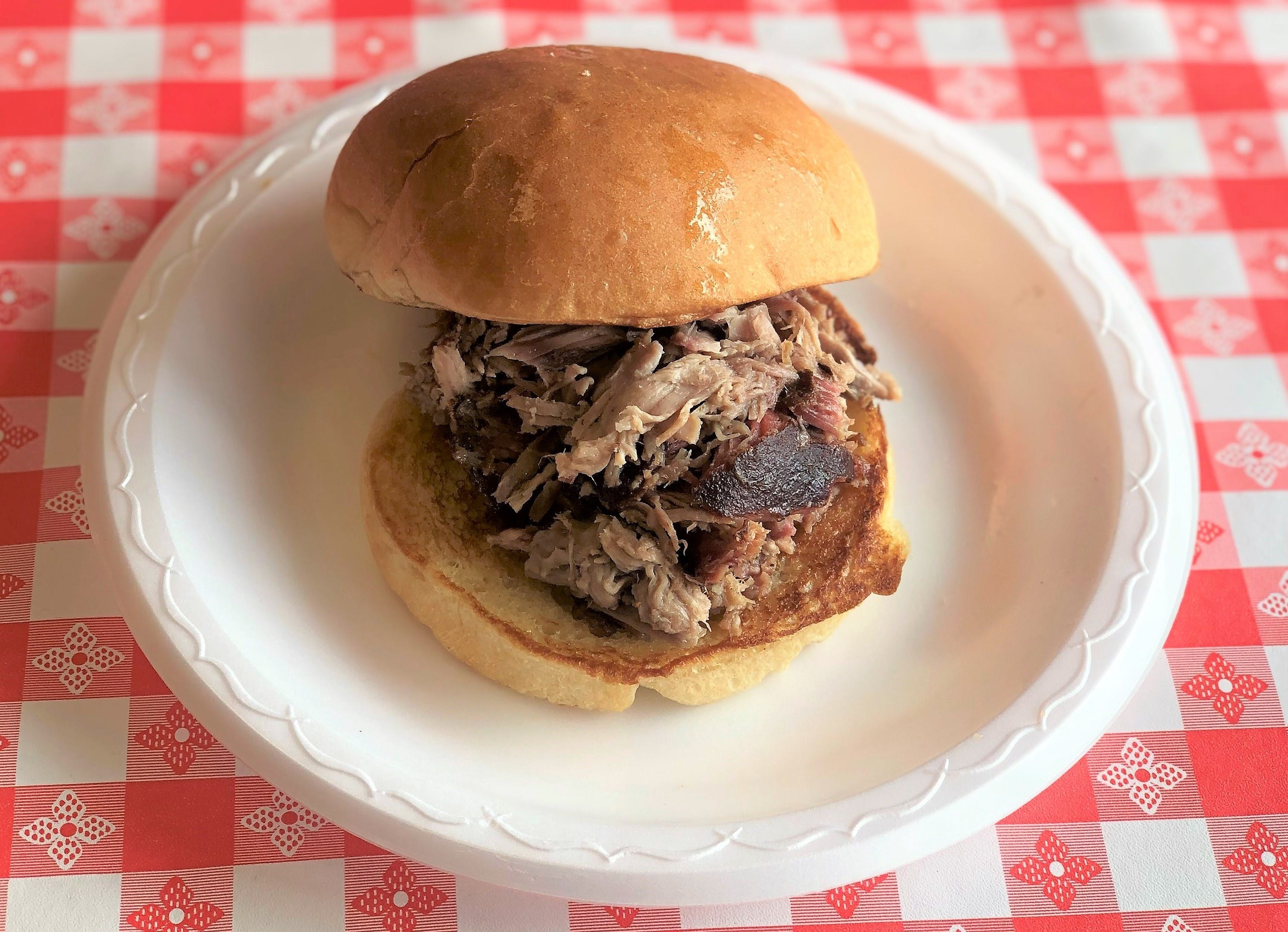 Regular Sandwich from Hog Wild Pit BBQ & Catering in Lawrence, KS
