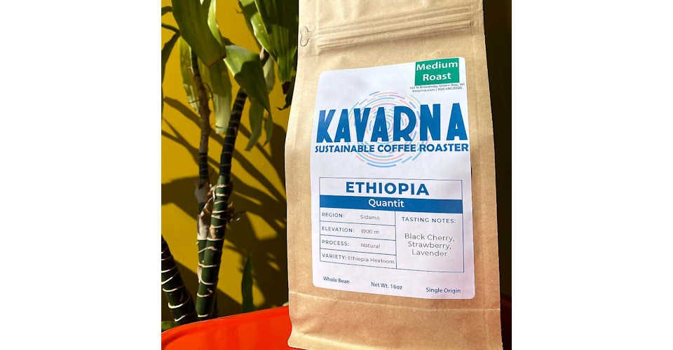 Ethiopia Quantit from Kavarna Coffee Store in Green Bay, WI