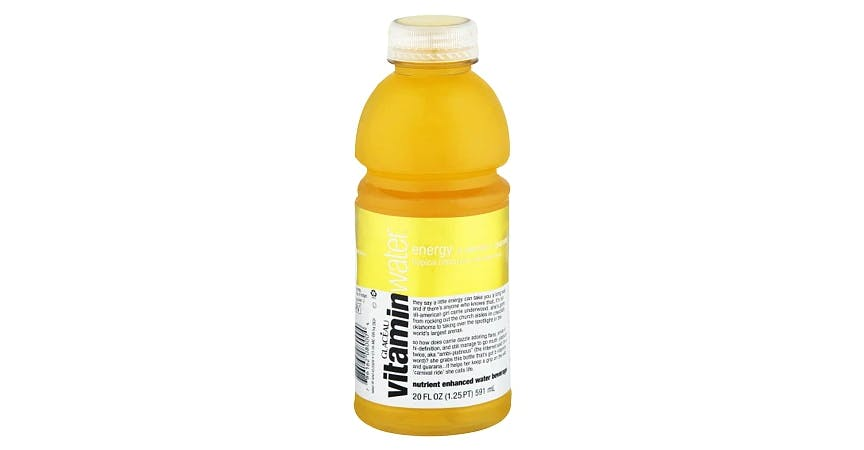 Glaceau Vitaminwater Nutrient Enhanced Beverage Bottle Tropical Citrus (20 oz) from EatStreet Convenience - W Mason St in Green Bay, WI