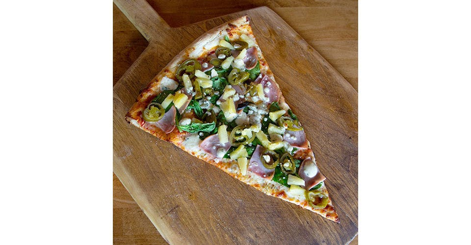 Melvin Pizza from Papa Keno's in Lawrence, KS