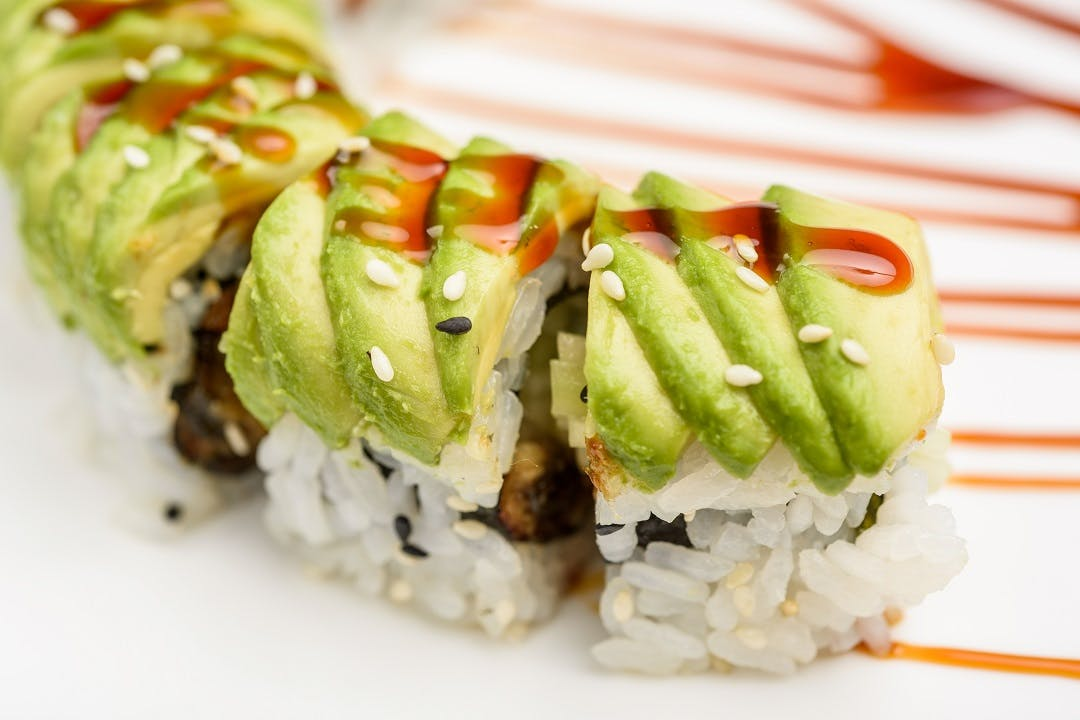 Dragon Roll from Ling's Bistro in Topeka, KS