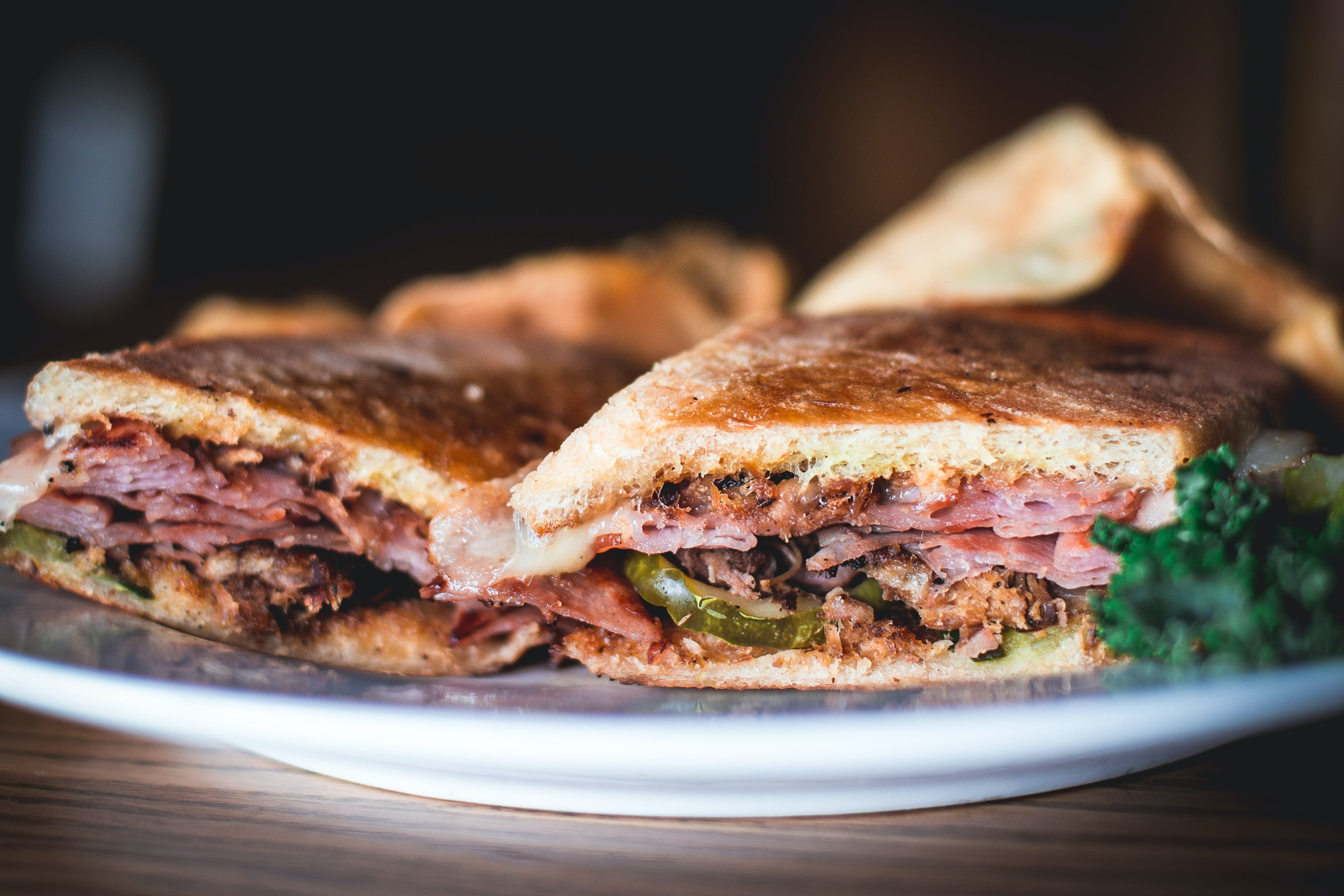 Cuban Jack Sandwich from Set'em Up Jacks in Lawrence, KS
