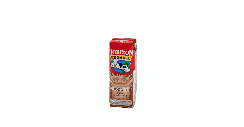 Organic Lowfat Chocolate Milk  from Noodles & Company - Kenosha 118th Ave in Kenosha, WI