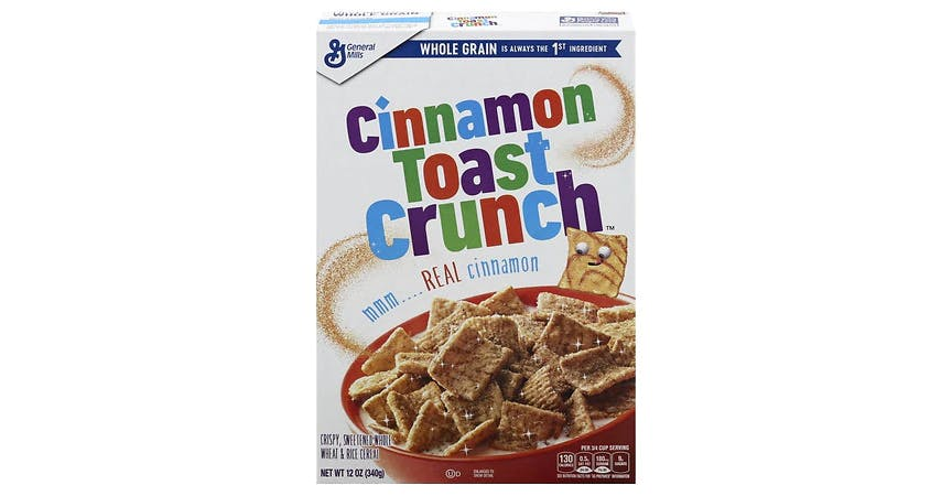 Cinnamon Toast Crunch Cereal (12 oz) from EatStreet Convenience - W Mason St in Green Bay, WI