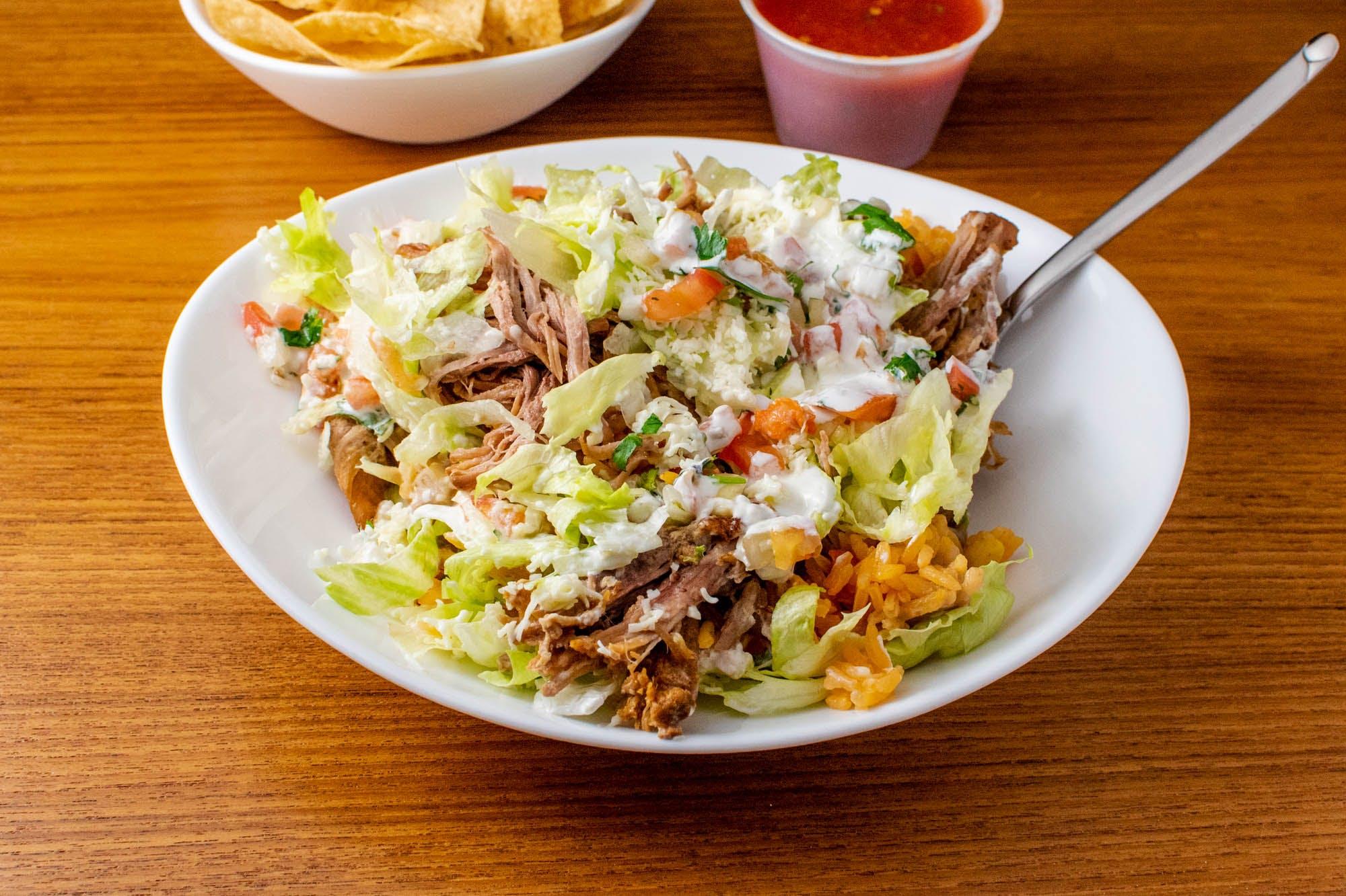 Burrito Bowl from La Penca Mexican Restaurant in Madison, WI