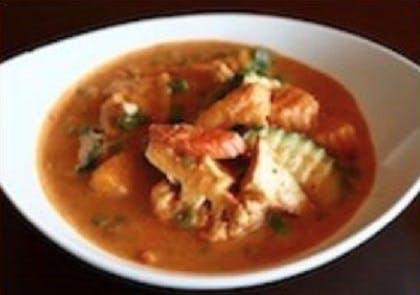 42B. Veggie Pa-naeng (Dinner) from Sa-Bai Thong - University Ave in Madison, WI