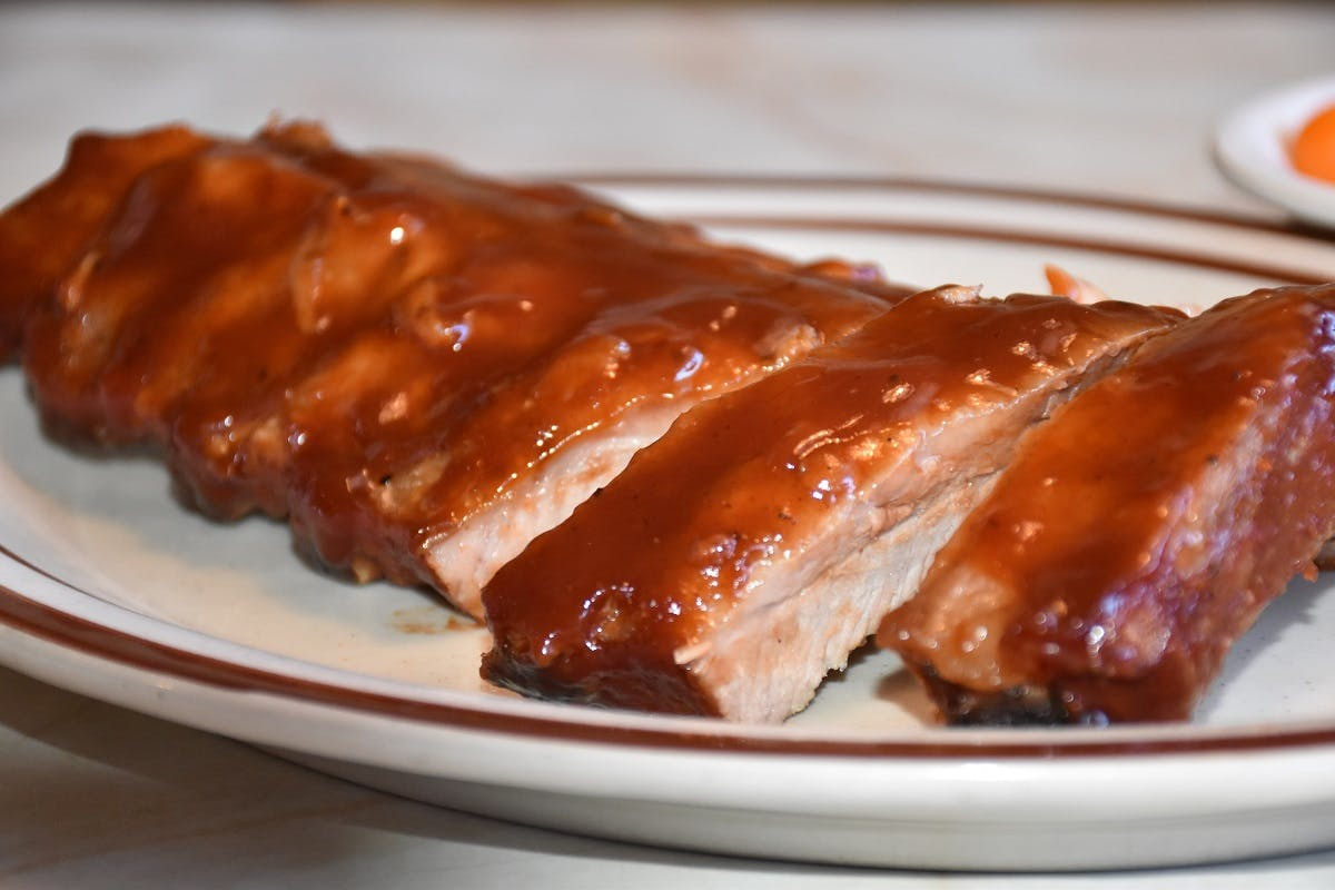 House Cooked BBQ Ribs from Golden Basket Restaurant in Green Bay, WI