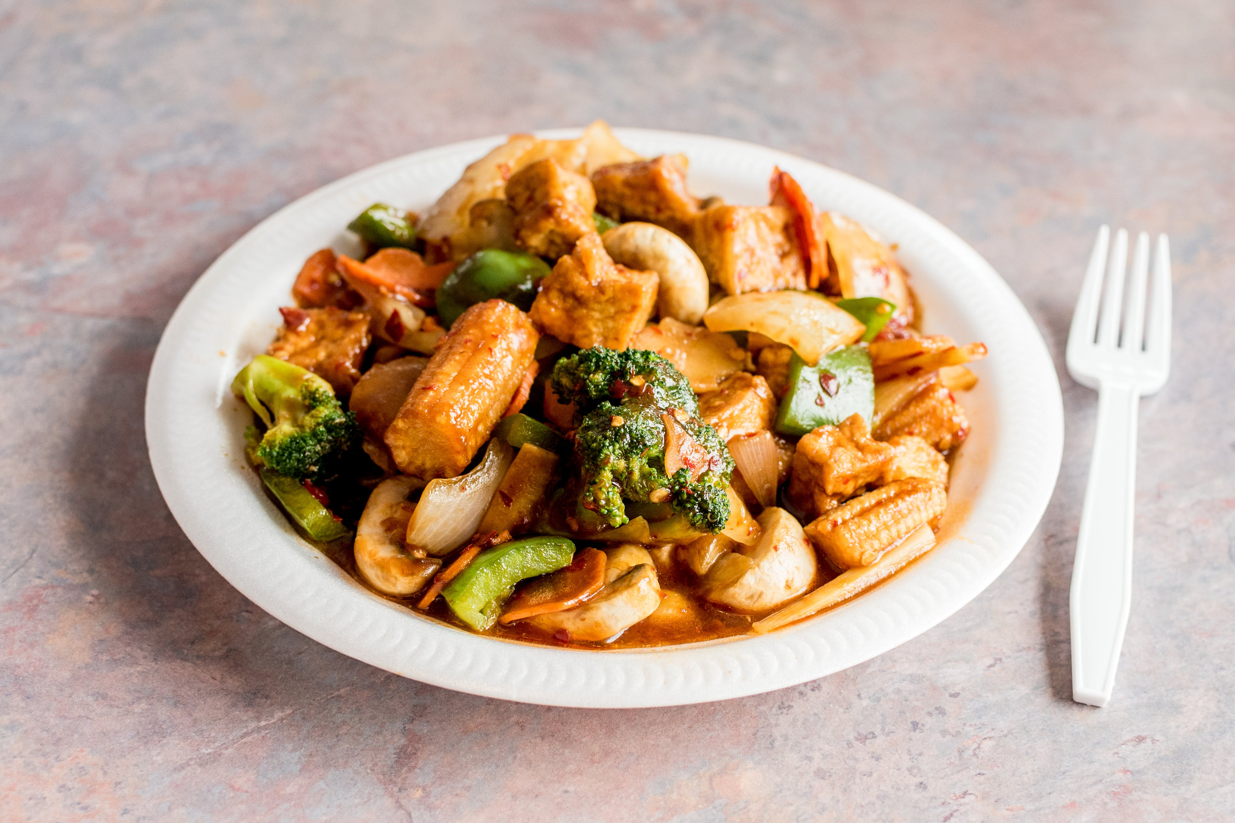 H17. To Fu Mixed Vegetables from Happy Wok - 2409 W Broadway, Monona in Monona, WI