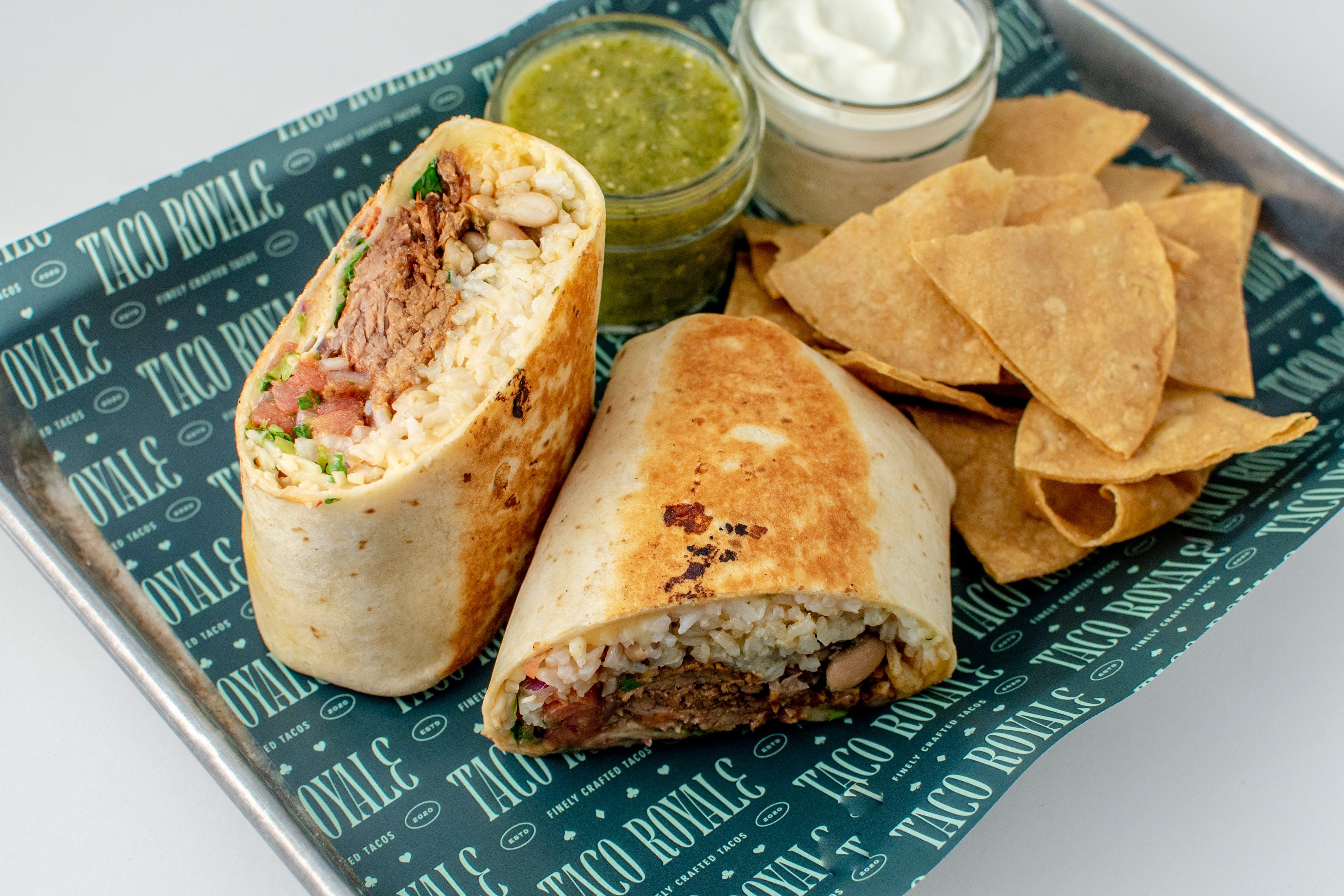 Burrito Combo Meal from Taco Royale - University Ave in Cedar Falls, IA
