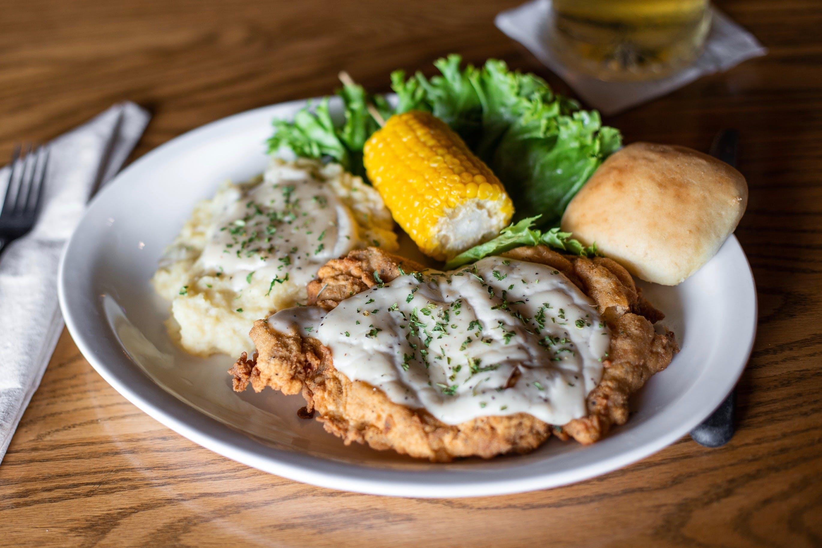 Chicken-Fried Steak from Set'em Up Jacks in Lawrence, KS