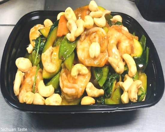 Shrimp with Cashew Nuts (Special Combination) from Sichuan Taste in Cockeysville, MD