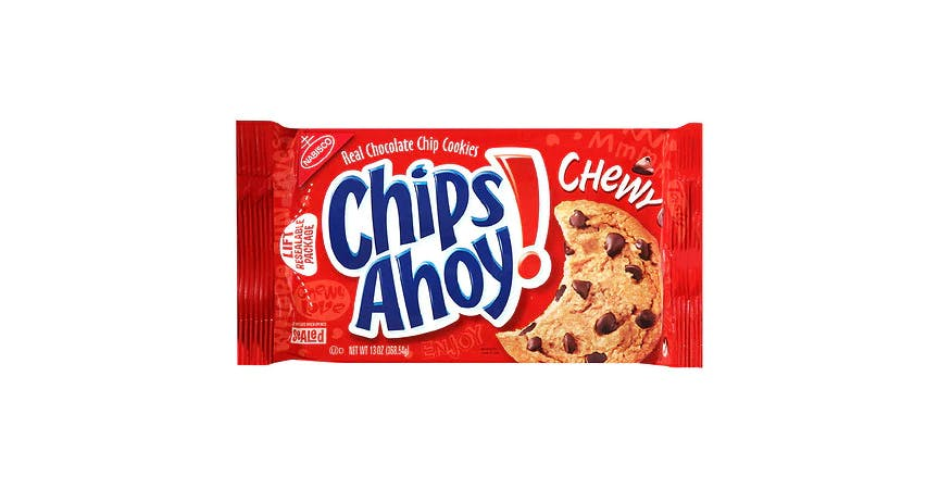 Chips Ahoy Chewy Cookies Chocolate Chip (13 oz) from EatStreet Convenience - W Mason St in Green Bay, WI