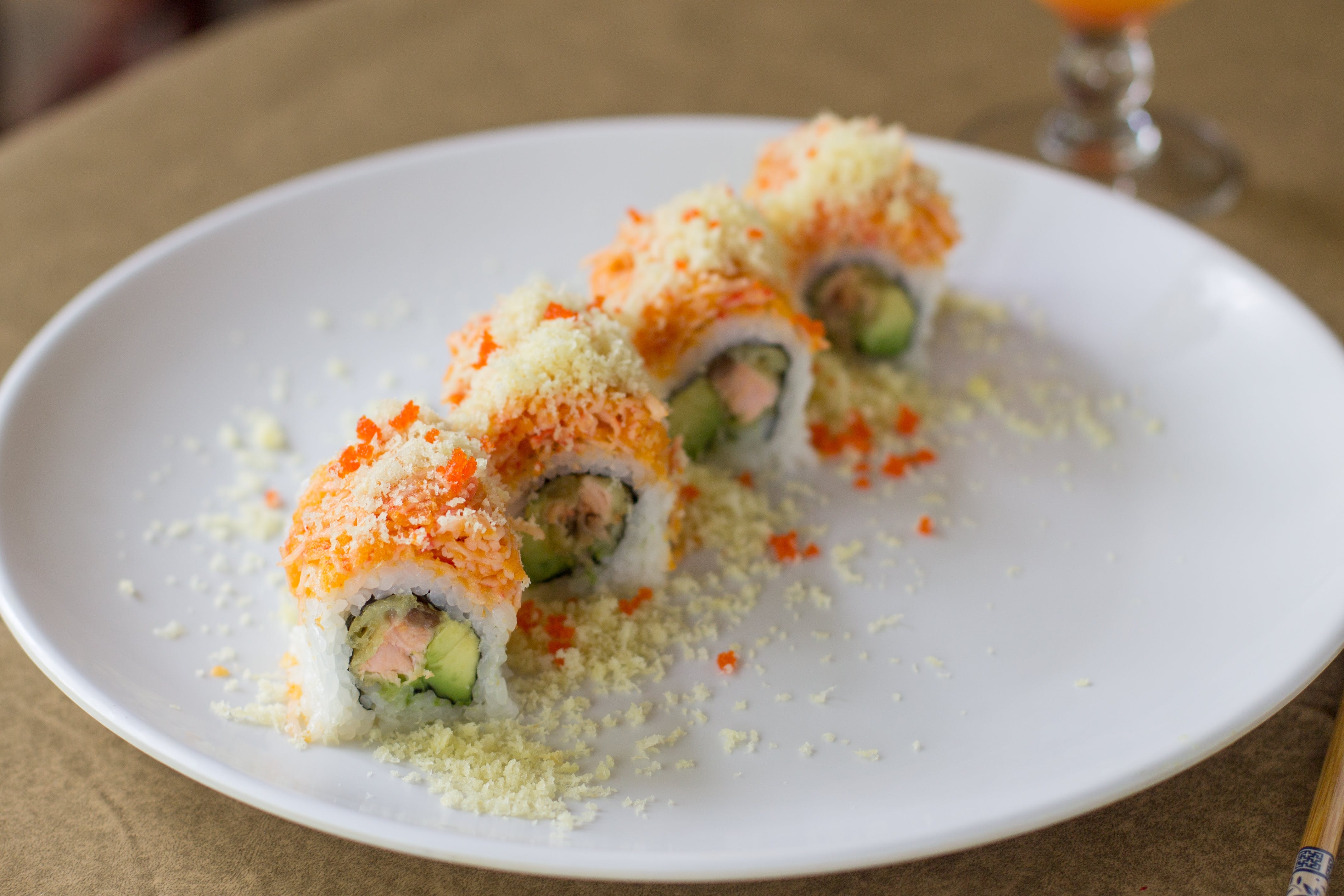 SP9. Barbossa Roll (8) from Sushi Pirate in La Crosse, WI