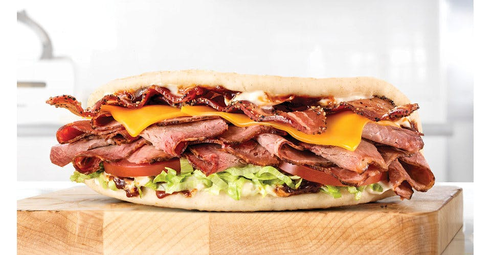 Brisket Bacon Flatbread from Arby's: Oshkosh S Koeller St (6329) in Oshkosh, WI