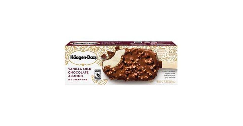 Haagan Dazs Vanilla Chocolate Bar (3 oz) from CVS - Main St in Green Bay, WI