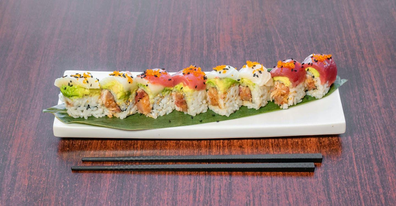 Smith Ranch Roll from Sakura Sushi in San Rafael, CA