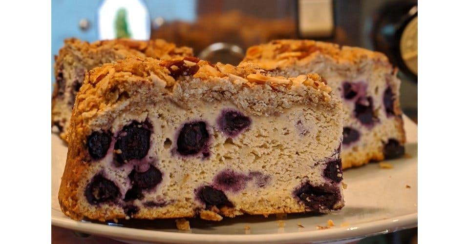 Swedish Blueberry Coffeecake from Patina Coffeehouse in Wausau, WI