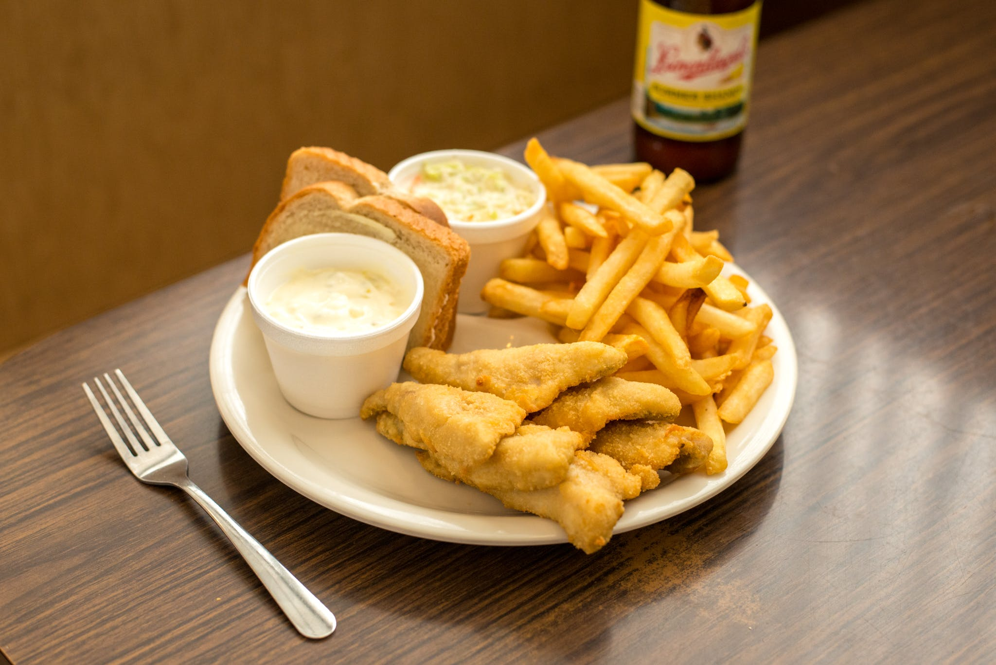 Regular Perch Plate from Kroll's East in Green Bay, WI