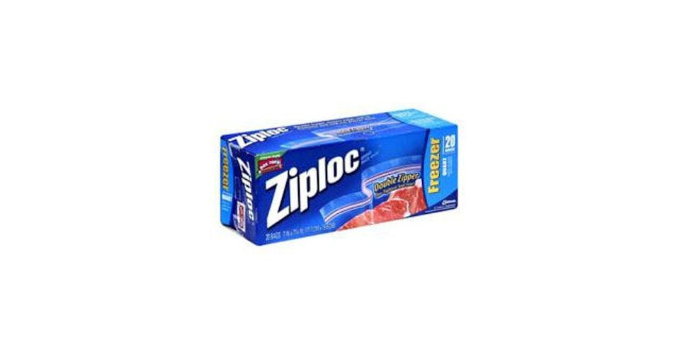 Ziploc Freezer Storage Bags Quart Size (20 ct) from CVS - Main St in Green Bay, WI