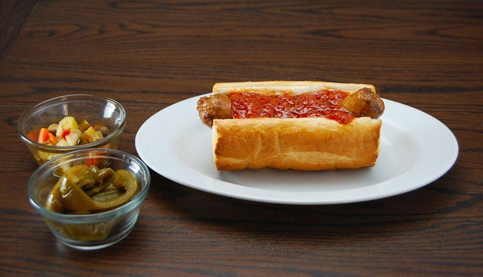 Italian Sausage Sandwich from Rosati's Pizza - DeKalb in Dekalb, IL