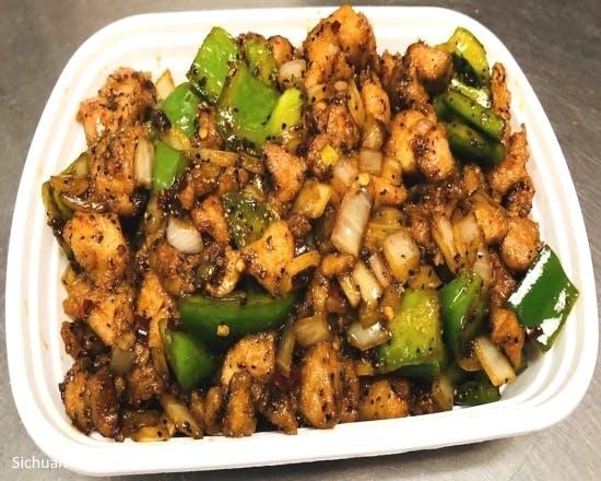 Black Pepper with Chicken from Sichuan Taste in Cockeysville, MD
