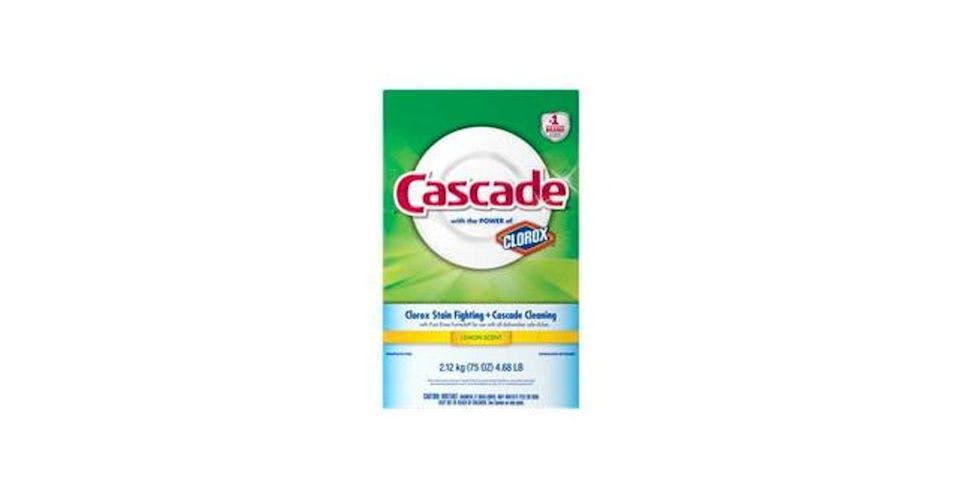 Cascade Powder Dishwasher Detergent Lemon Scent (75 oz) from CVS - Main St in Green Bay, WI