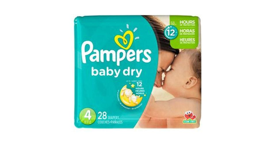 Pampers Baby Dry Diapers Jumbo Pack Size 4 (28 ct) from CVS - Main St in Green Bay, WI