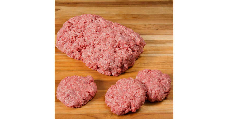 Frozen Ground Beef (1 lb) from Vitruvian Farms in Madison, WI