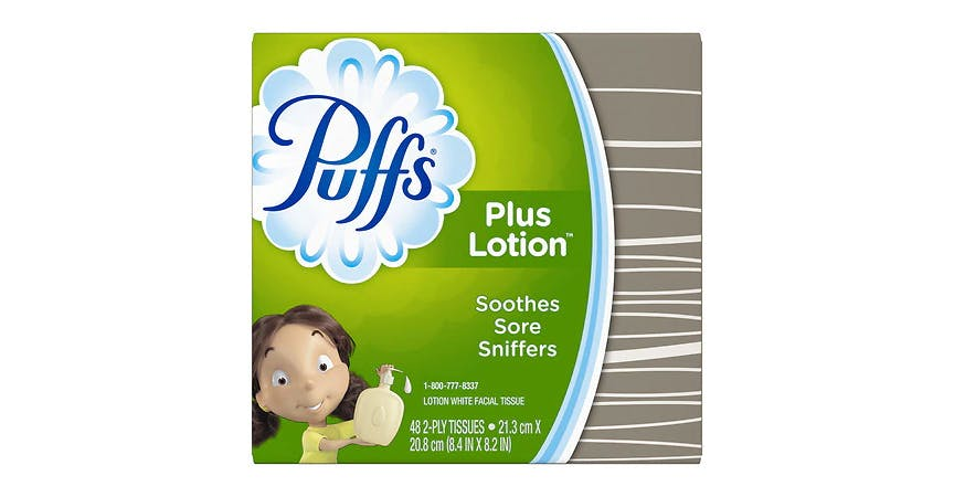 Puffs Plus Facial Tissue (48 ct) from EatStreet Convenience - SW Wanamaker Rd in Topeka, KS