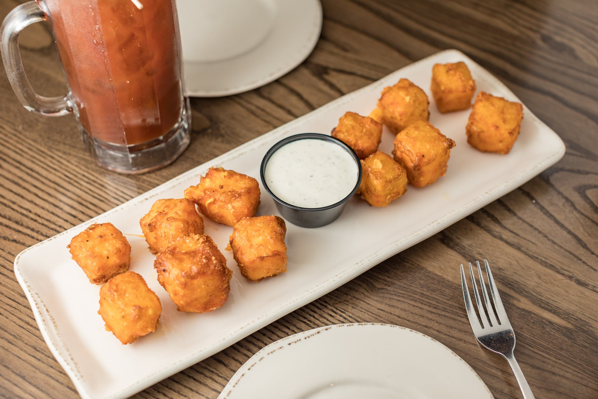 Wisconsin Cheese Curds from Grizzly's Wood-Fired Grill in Eau Claire, WI