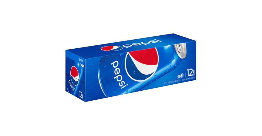 Pepsi Soda Cans 12 oz (12 pack) from EatStreet Convenience - W Mason St in Green Bay, WI