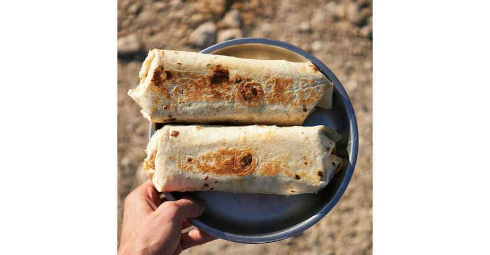 Frozen Burritos (2 count) from Vitruvian Farms in Madison, WI