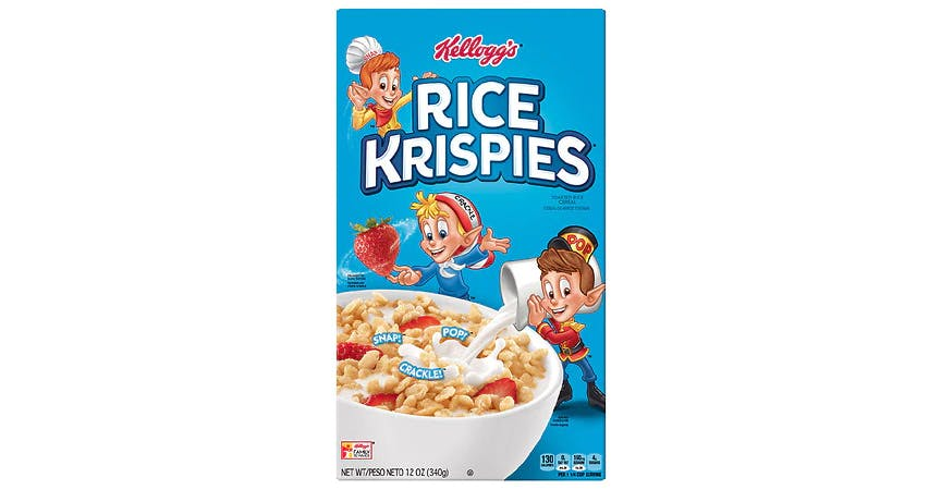 Rice Krispies Cereal (12 oz) from EatStreet Convenience - W Mason St in Green Bay, WI