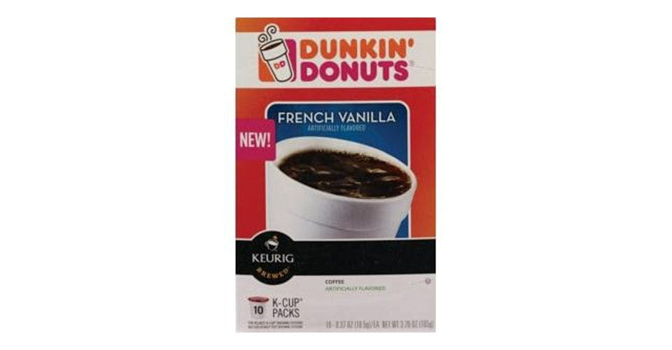 Dunkin' Donuts French Vanilla Coffee K-Cup Pods (10 ct) from CVS - Main St in Green Bay, WI