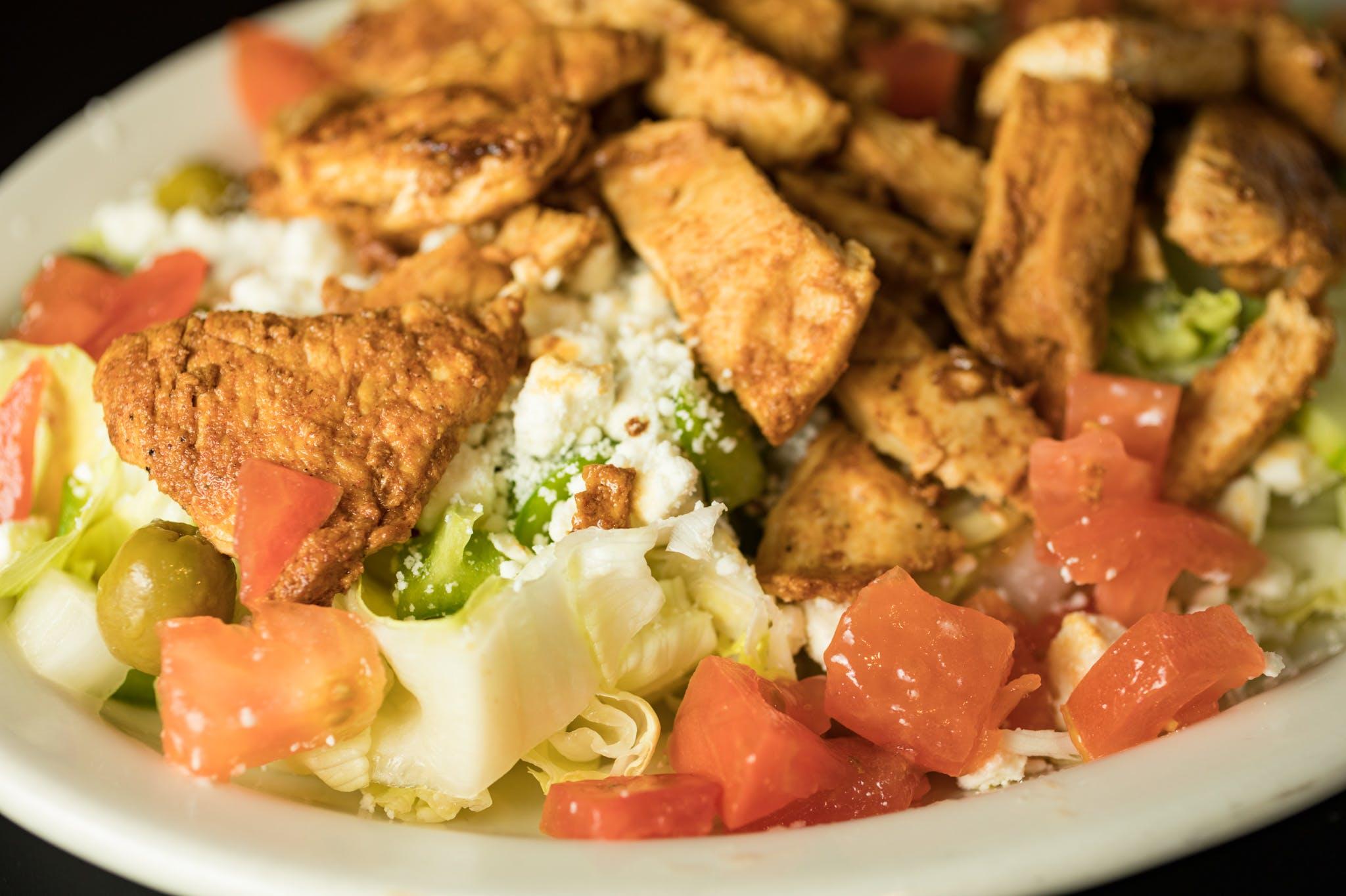 Greek Salad from Judy's Kitchen in New Brunswick, NJ