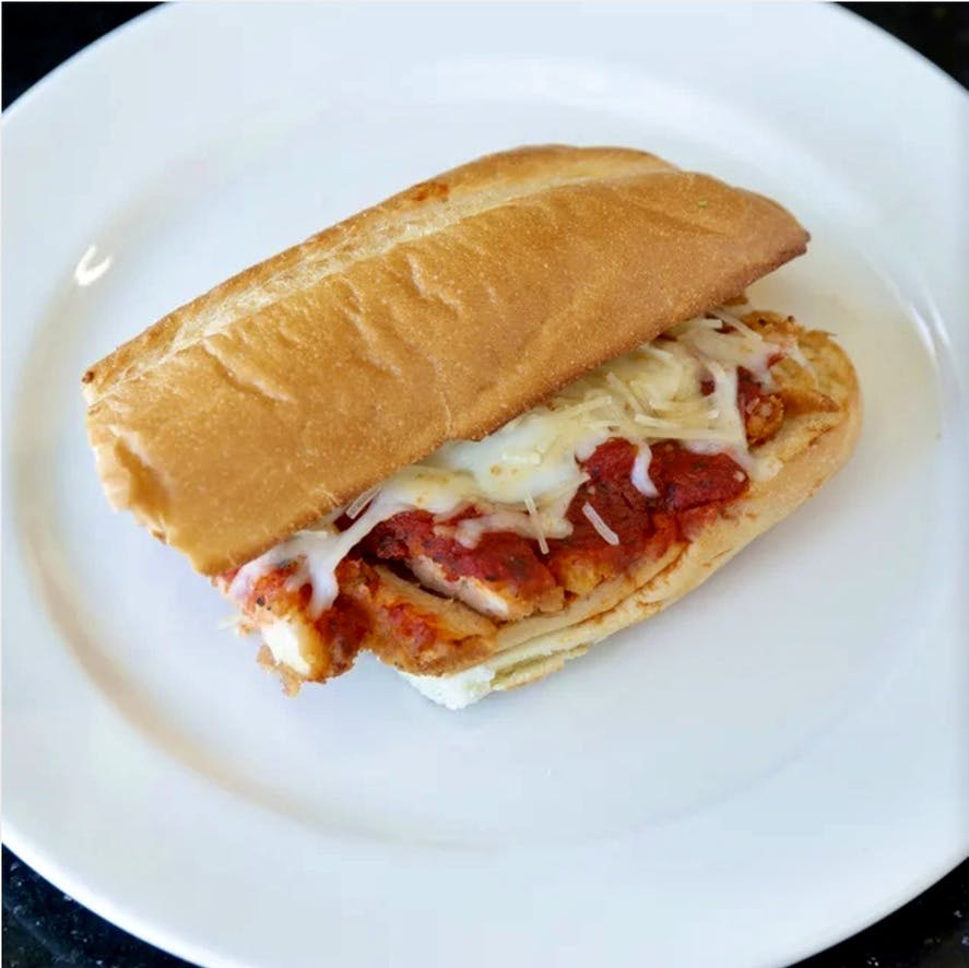 Chicken Parmigiana Sandwich from Ameci Pizza & Pasta - Lake Forest in Lake Forest, CA