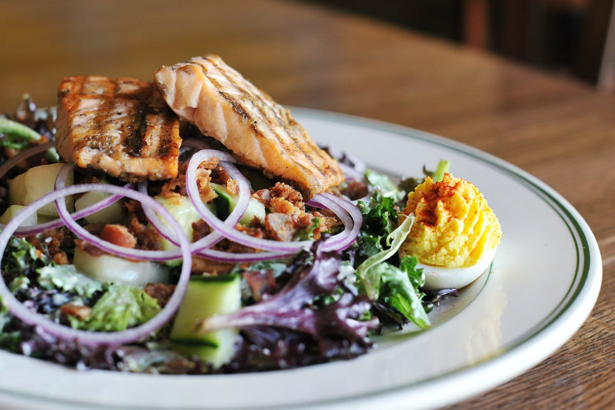 Salmon Salad from The Old Fashioned in Madison, WI