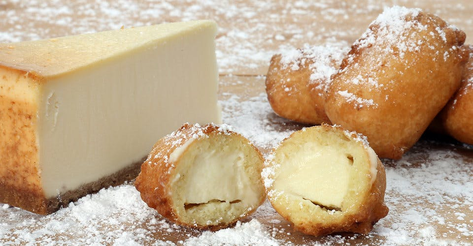 3 Deep-Fried Cheesecake Bites from Fat Shack - Lawrence in Lawrence, KS