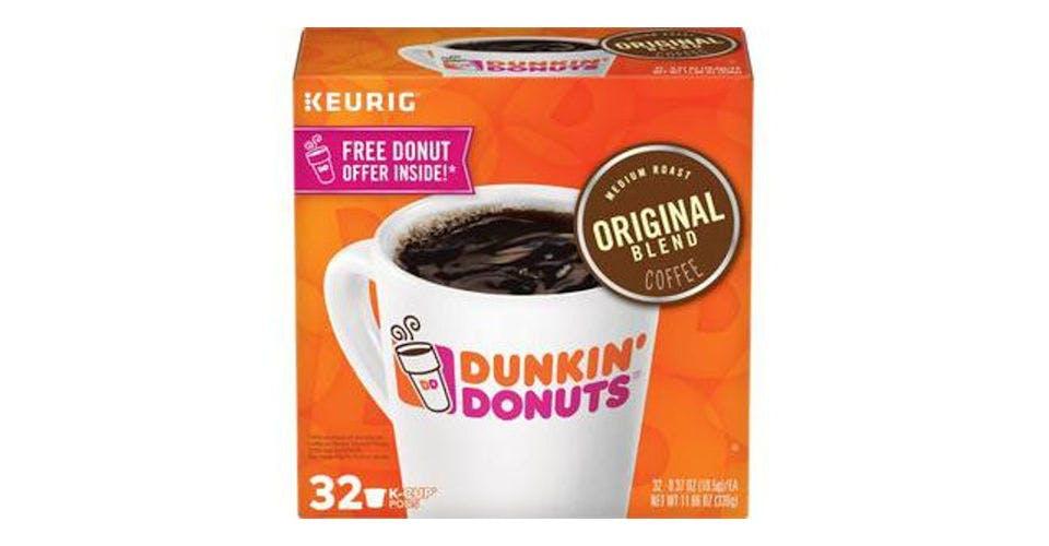 Dunkin' Original Blend Medium Roast Coffee K-Cups (32 ct) from CVS - Main St in Green Bay, WI