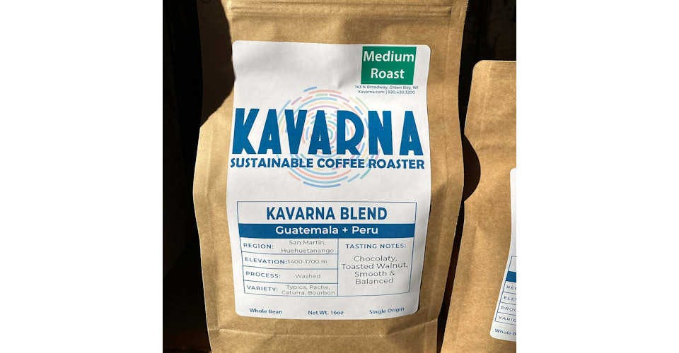 Kavarna Blend from Kavarna Coffee Store in Green Bay, WI