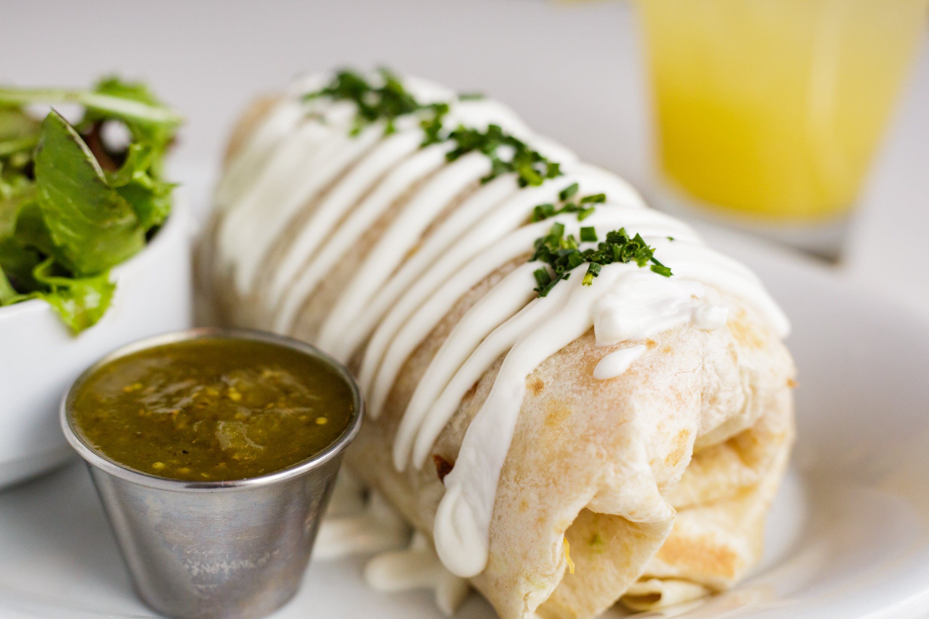 Hot to Tot Burrito from Bassett Street Brunch Club in Madison, WI