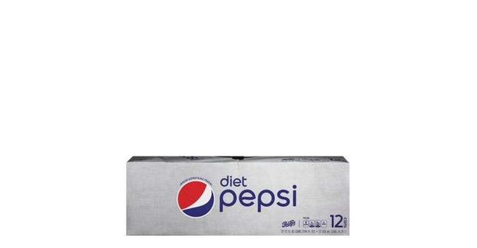 Diet Pepsi Zero Calorie Can 12 Pack (12 oz) from CVS - Main St in Green Bay, WI
