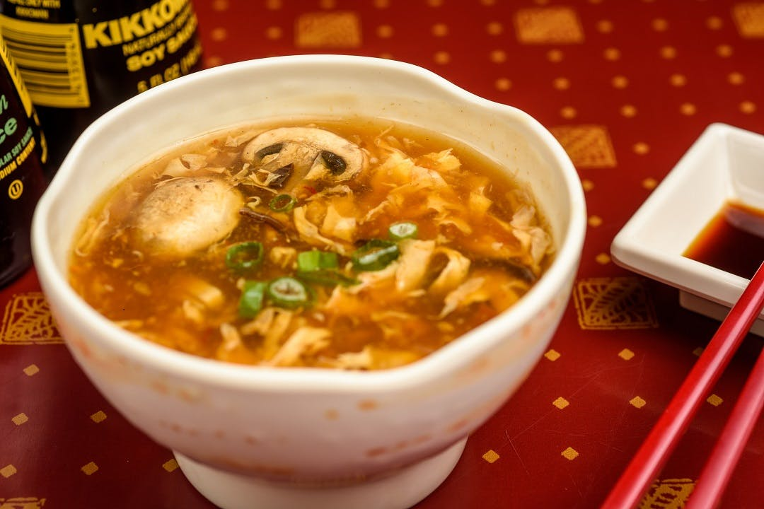 S 2. Hot Sour Soup from Ling's Bistro in Topeka, KS