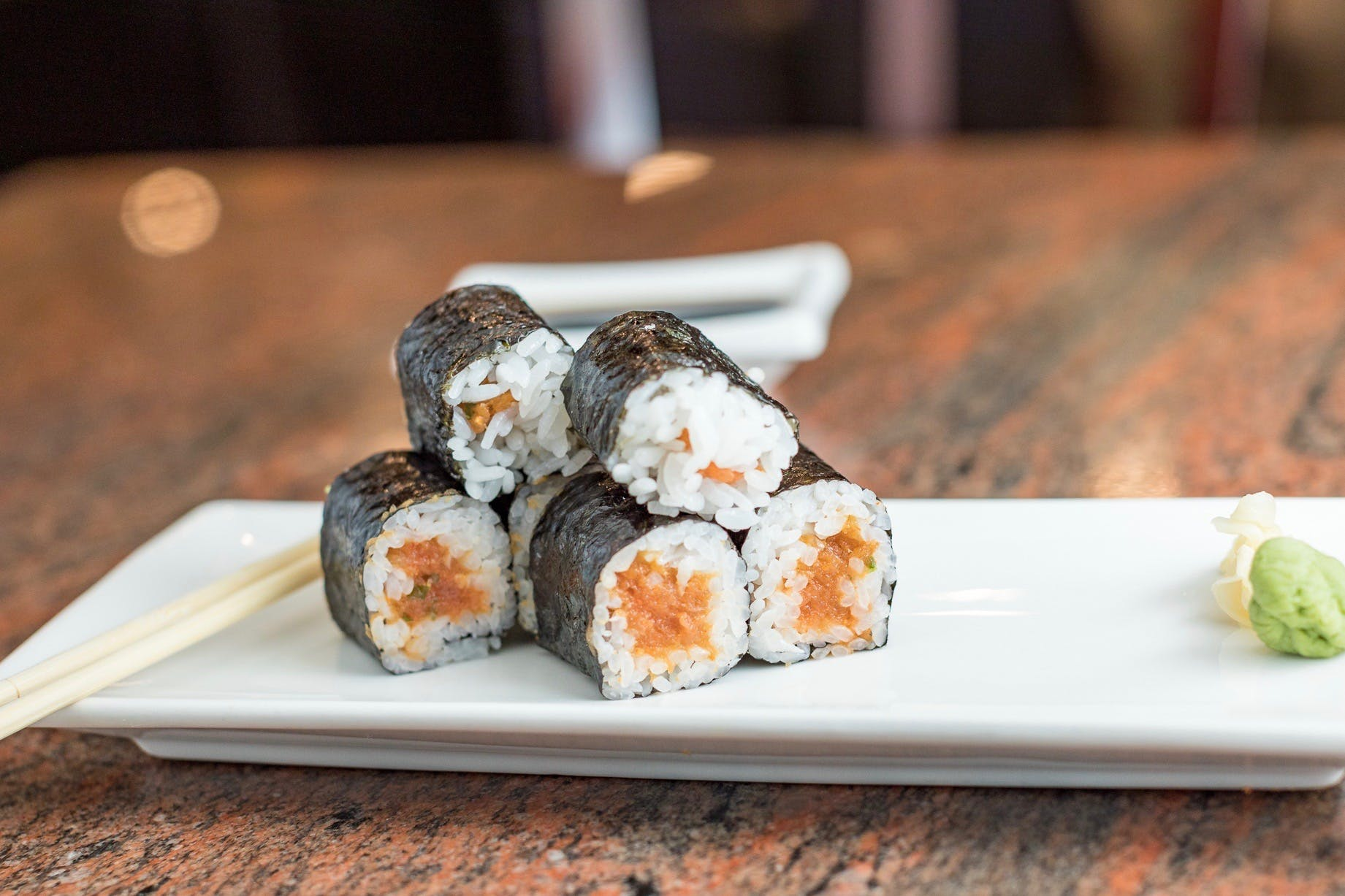 Spicy Tuna Roll from Shanghai Bistro in Eau Claire, WI