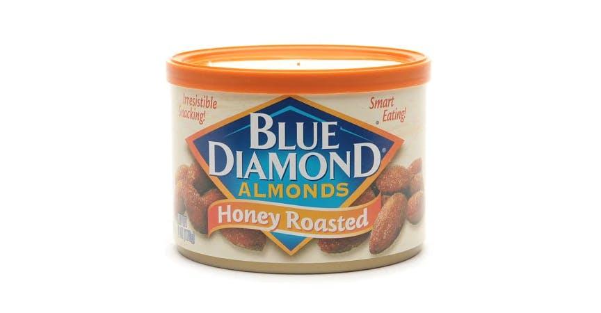 Blue Diamond Almonds Honey Roasted (6 oz) from EatStreet Convenience - Historic Holiday Park North in Topeka, KS