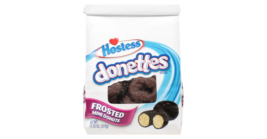 Hostess Donettes Bag Chocolate Frosted (11 oz) from EatStreet Convenience - W Mason St in Green Bay, WI