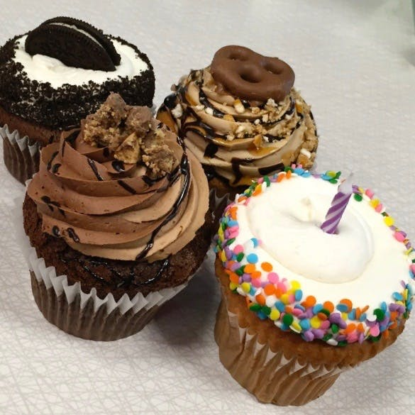 Jumbo Filled Cupcakes from Classy Girl Cupcakes - Jefferson St in Milwaukee, WI