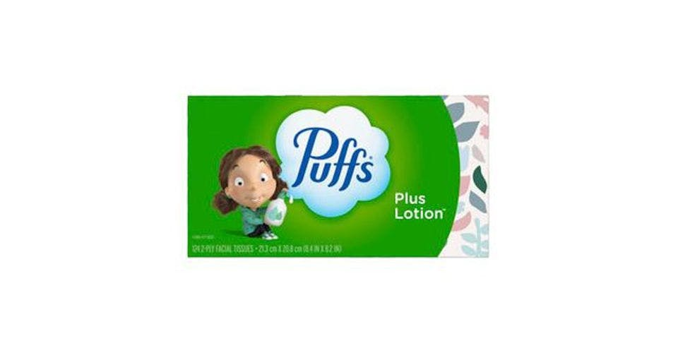 Puffs Plus Lotion Facial Tissues (124 ct) from CVS - Main St in Green Bay, WI