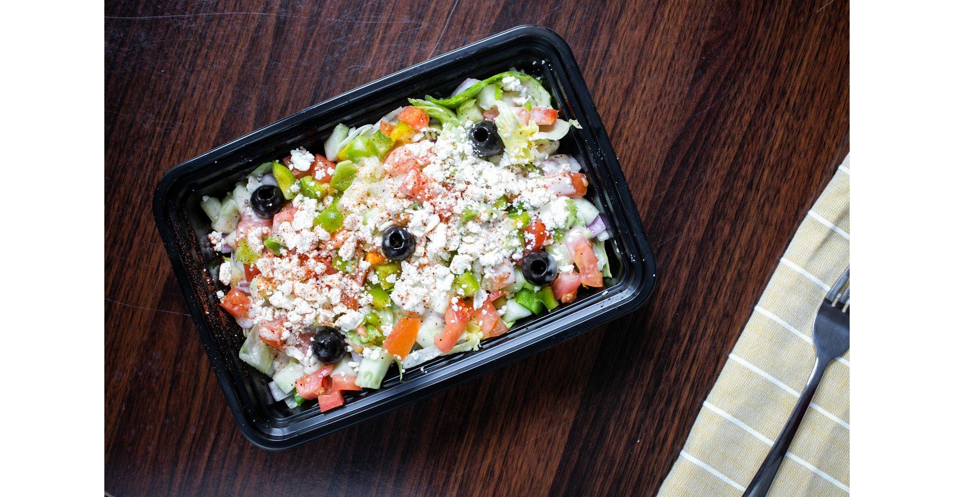 Greek Salad from Austin's Habibi in Austin, TX